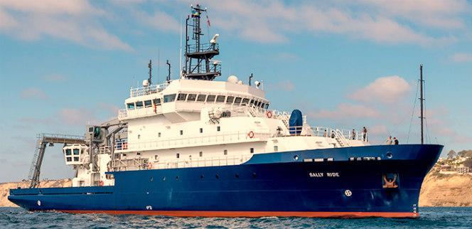 Scripts Institute of Oceanography Sally Ride Ship croped