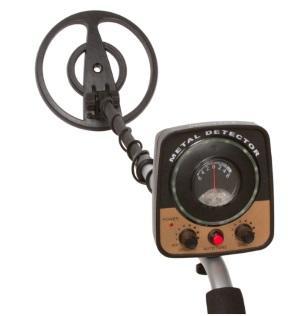 Treasure Cove Fortune Finder Junior Detector de metales 2 crédito Overstock