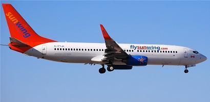 SUNWING 737 8BK C FTJH 2858478096