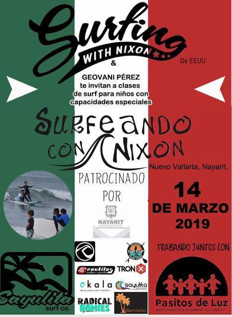 Surfing with Nixon poster