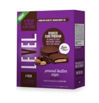 LEVEL Life Peanut Butter Cups and Peanut Turtle Bars 1 credit LEVEL Life