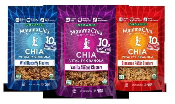 Mamma Chia Chia Vitality Granola Clusters 1 crédito NA