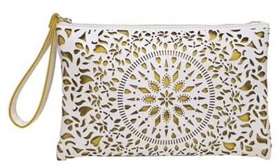Kailee Clutch White 1 credit Carlos by Carlos Santana