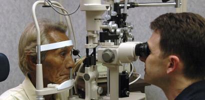 Frente oftalmólogo