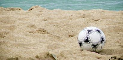 playa de futbol
