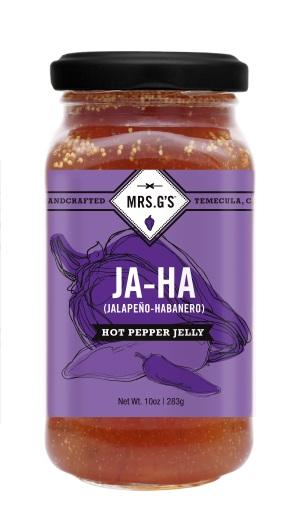 señora. Gs hot pepper jelliy 3 créditos mrs. Gelatina de ají picante