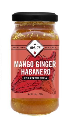 señora. Gs hot pepper jelliy 4 créditos mrs. Gelatina de ají picante