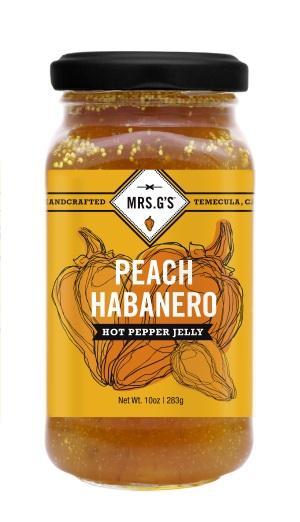 señora. Gs hot pepper jelliy 5 créditos mrs. Gelatina de ají picante