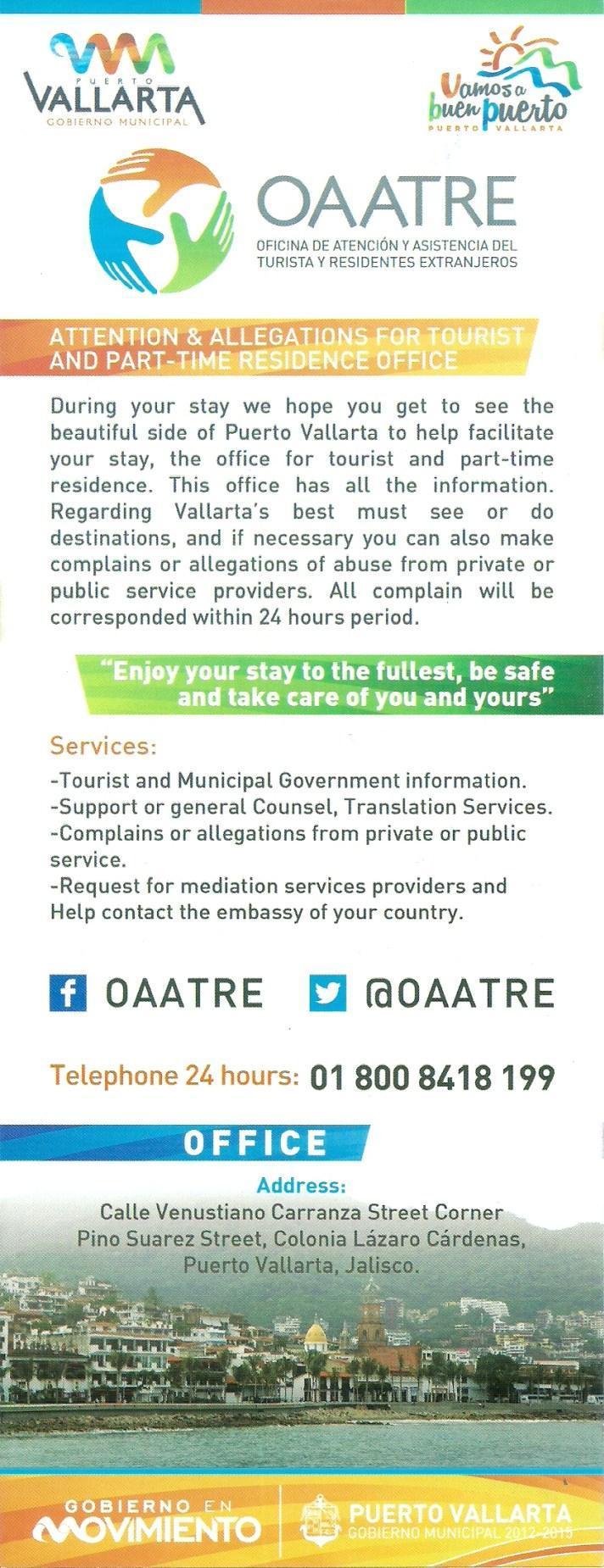 Ayuda Legal Turística OAATRE