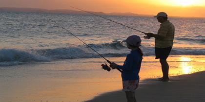 frente de pesca