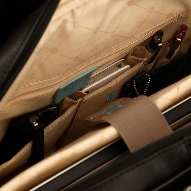 JILL-E Leather Career Bag 2 crédito Jill-e Designs