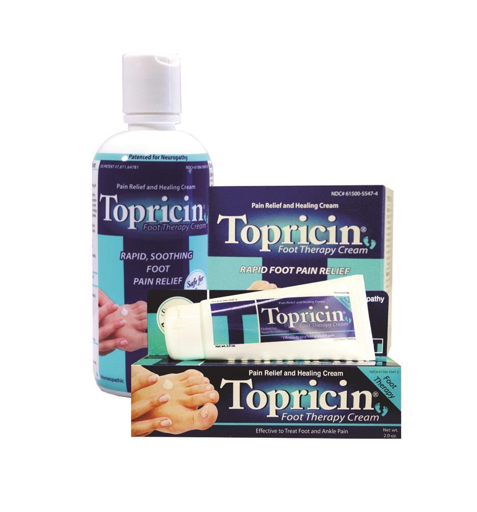 Topricin Foot Therapy Cream 1 crédito topricin