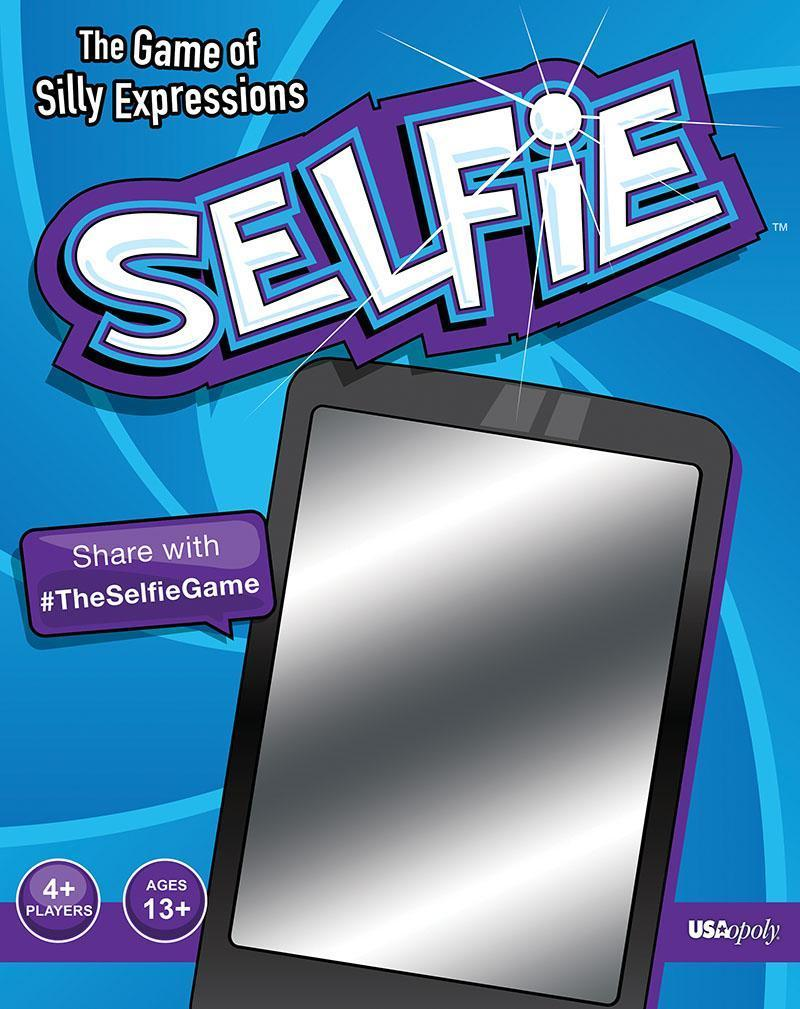 Selfie The Game of Silly Expressions Images 2 credit USAopoly
