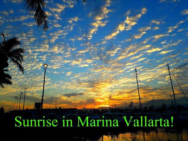 Sunrise in Marina Vallarta...