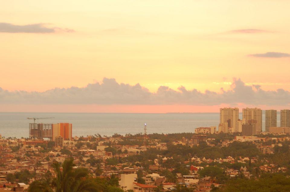 Last night's pastel sunset!