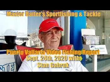 Video de pesca de Puerto Vallarta Informe de pesca 9/24/2020