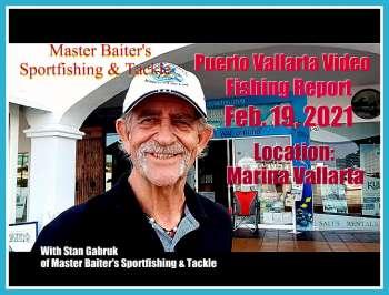 Informe de pesca en video 19 de febrero de 2021 con Stan Gabruk