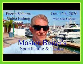 Informe de video de pesca en Puerto Vallarta 12 de octubre de 2020