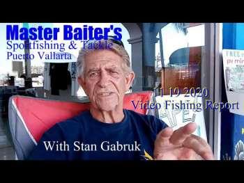11 19 Informe de pesca en video 2020, Puerto Vallarta